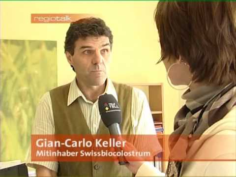 Colostrum RegioTalk mit Swiss Bio Colostrum 3