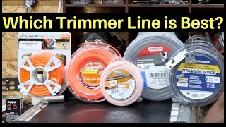 Which Trimmer Line is Best? Let