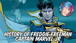 History Of Freddie Freeman - Captain Marvel Jr