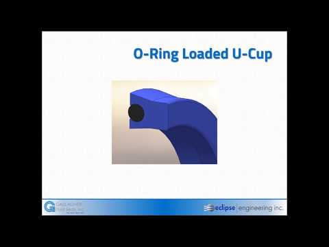 Elastomer Profiles for Rubber Energized Seals - Gallagher Fluid Seals
