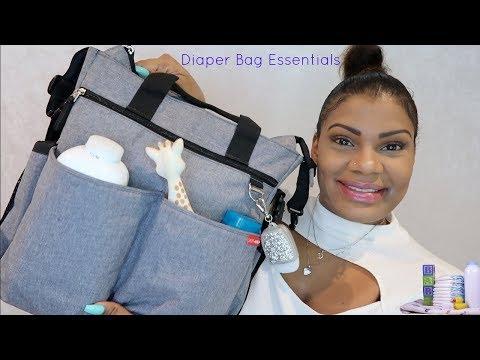 WHAT'S IN MY DIAPER BAG??  (+ Skip Hop Bag Review)