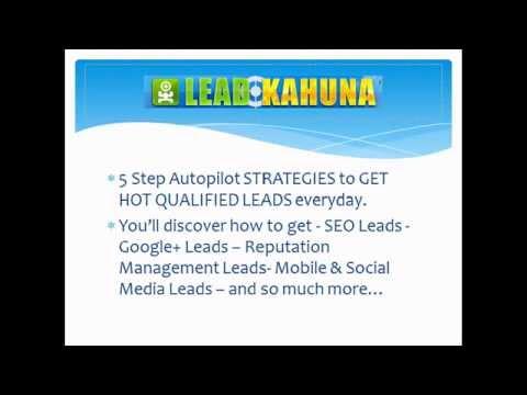 Lead  Generation Software Lead Kahuna