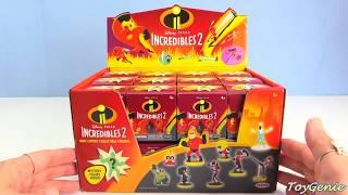Incredibles 2 Mystery Blind Boxes Mr. Incredible, Elastigirl, Jack Jack Super Heroes