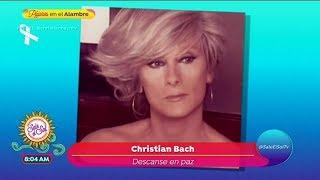 Fallece la actriz Christian Bach a los 59 años | Sale el Sol