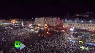 Салют во Владивостоке в честь 70-летия Великой Победы