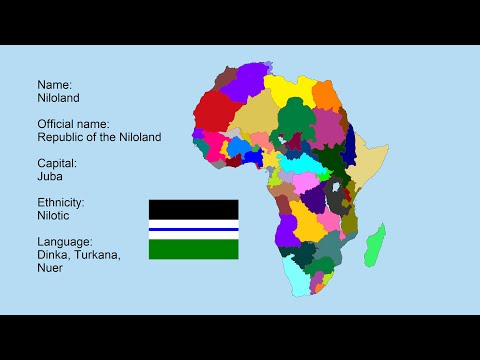 Lets Redraw the Borders of Africa!