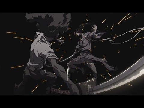 Shichigoro VS Afrosamurai. 一騎打ち