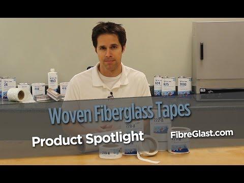 Woven Fiberglass Tapes