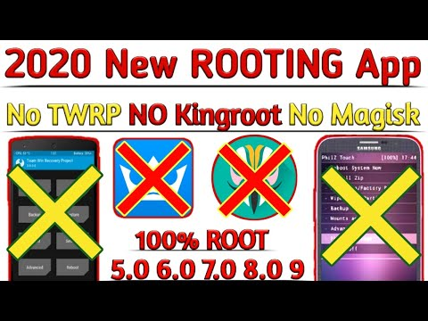 2020 New Rooting App | Root All Samsung & Any Android Phone 5.0/6.0/7.0/8 9 10 | No TWRP No Kingroot