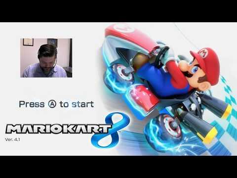Mario Kart 8 - Nintendo Wii U   VGHI Play 'n' Chat Live Stream