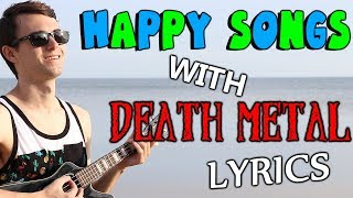 Today, we take popular HAPPY songs, and swap out the lyrics with DE...