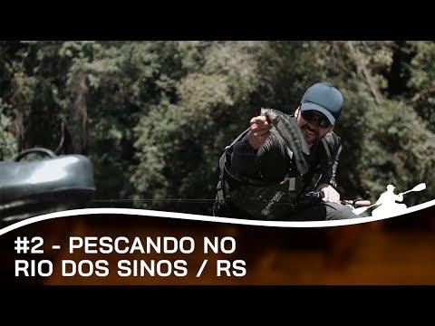 PESCARIA NO RIO DOS SINOS EM ROLANTE E CARAÁ #2 | Remos e Rumos | Fish TV