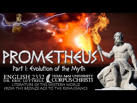 Prometheus (1 Of 3) Evolution Of The Myth