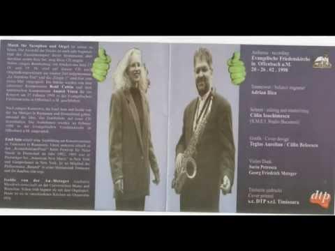 C.FRANCK PIECE V / Musik fur  Saxophon und Orgel   Emil Sein / Isolde von der AU-METZGER