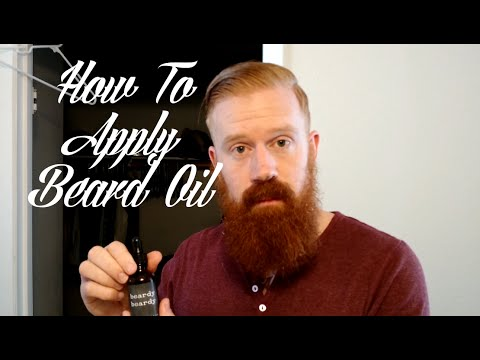 how to apply beard oil driving vlog youtube. Black Bedroom Furniture Sets. Home Design Ideas