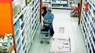 Кражи в супермаркете (у покупателей)