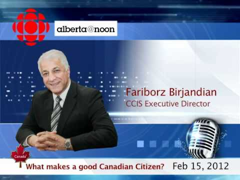CBC Alberta@Noon: What makes a good Canadian Citizen?
