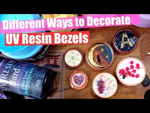 UV Resin Tutorials: 3 Different Ways to Decorate Bezels