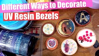 UV Resin Tutorials: 3 Different Ways to Decorate Bezels