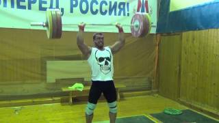 Klokov Dmitry - Cross Fit complex 155 kg !!!