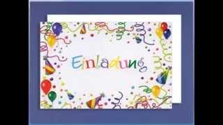 Dialogul de Joi: Einladung / Geburtstag