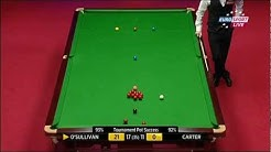 Snooker WM 2012: Ronnie O'Sullivan - Ali Carter 29. Frame (Last Frame) German Comments