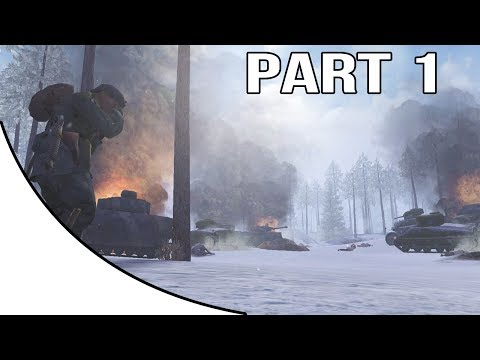 Call Of Duty United Offensive Gameplay Walkthrough Part 1 - American Campaign - Ardennes