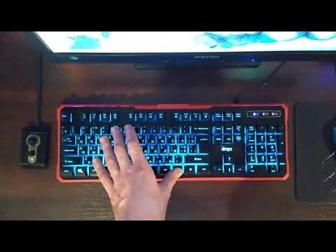 Клавіатура дротова Ergo KB-670 USB