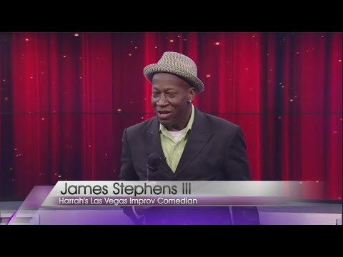James Stephens III performs standup routine on Valley View Live!