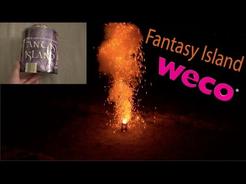 Fantasy Island | WECO | Fontänenbatterie in Full HD