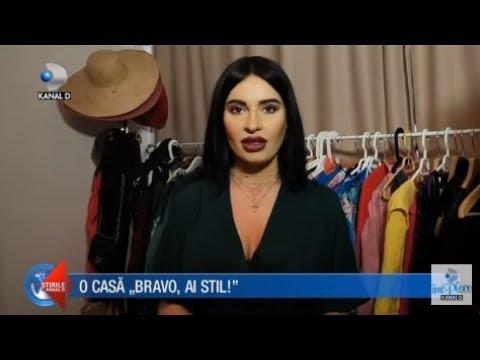 """Stirile Kanal D (01.04.2018) - O casa """"Bravo, ai stil!"""" cu Irina! """"Casa de vedeta"""""""