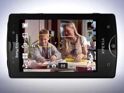The Camera -- Xperia™ mini pro