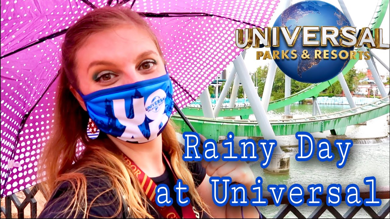 Surviving a Rainy Day at Universal Studios Orlando During the Pandemic | A Month After Reopening