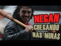 Negan Ensinando a perder Timidez com Cantadas de The Walking Dead - (Tutorial & Pegadinha)