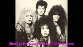 Vinnie Vincent Invasion - Shoot You Ful Of Love (lyrics)