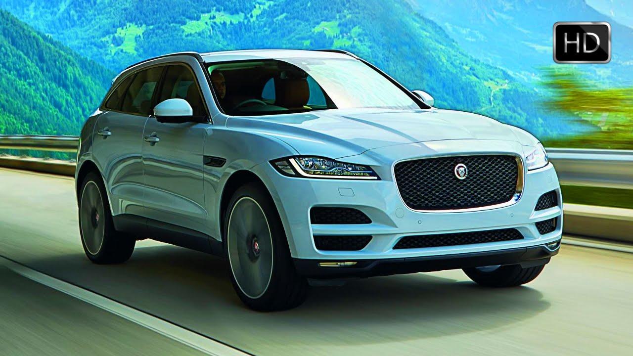 2017 Jaguar F Pace 3 0 V6 Suv Exteriorinterior Design Drive Glacier White Hd Youtube