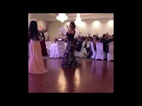 Beautiful Afghan girl dance