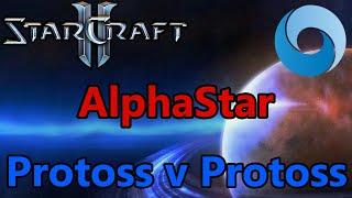 DeepMind AI AlphaStar Final - Protoss vs Protoss - StarCraft II [Deutsch]