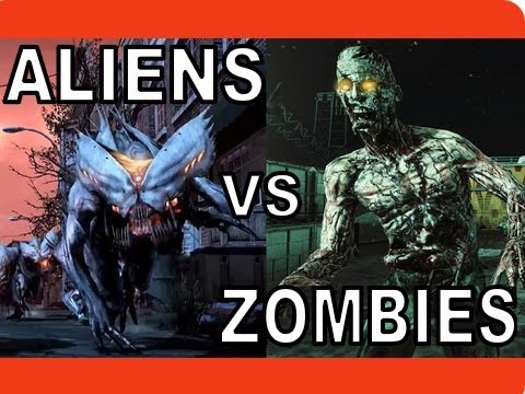 RAP BATTLE - ALIENS VS ZOMBIES | BRYSI (FT. U4IX)