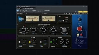 Review Of Waves API 2500 Compressor Plug-in