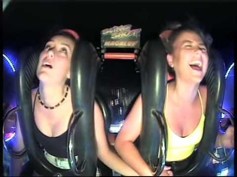 two girls in slingshot
