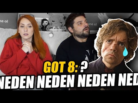 BU NE SAÇMALIK?! Game of Thrones 8.Sezon 4.Bölüm REACTION