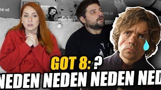 BU NE SAÇMALIK?! Game of Thrones 8.Sezon 4.Bölüm REACTION