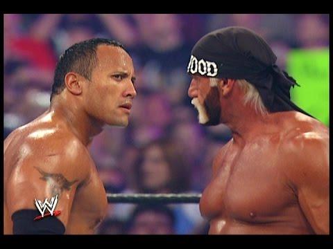 wwe hulk hogan vs the rock