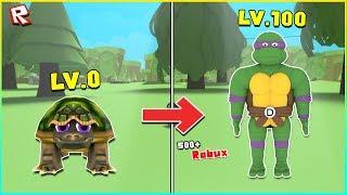 🐢Turtle Simulator 💚 - #1 จำลองการเป็นเต่าและต่อยตีแบบเต่าๆ!?เต่ายักษ์500+R