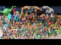 The BIGGEST collection of DINOSAURS we have EVER seen!!!