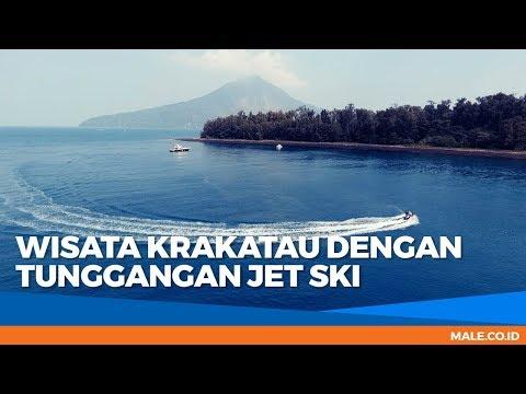Keren Banget! Wisata Krakatau dengan Tunggangan Jet Ski - Male Indonesia