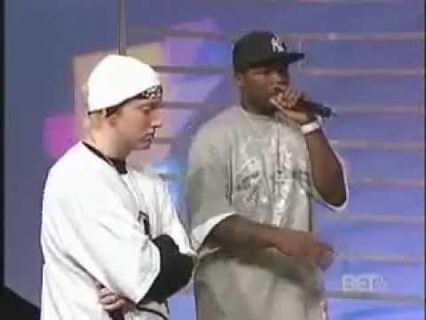 Eminem и 50 cent угадывают песни друг друга
