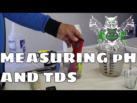 Measuring pH and TDS for Hydroponic gardens | Learn How to Grow Marijuana at Home | Increase Yield