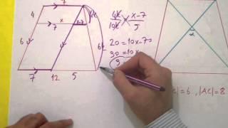 Yamuk 1 Yamukta Açı Ve Uzunluk Şenol Hoca Matematik